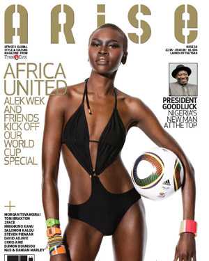 ARISE June 2010 cover