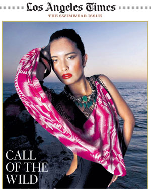 Los Angeles Times May 23, 2010 Swimwear Issue cover