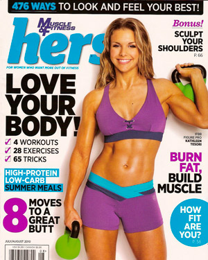Muscle & Fitness Hers July/Aug 2010