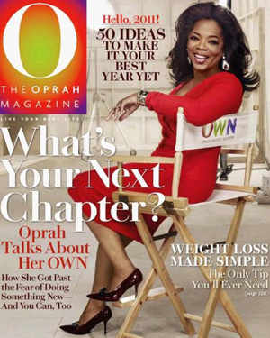 O The Oprah Magazine Jan 2011