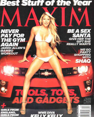 Maxim December 2011 cover